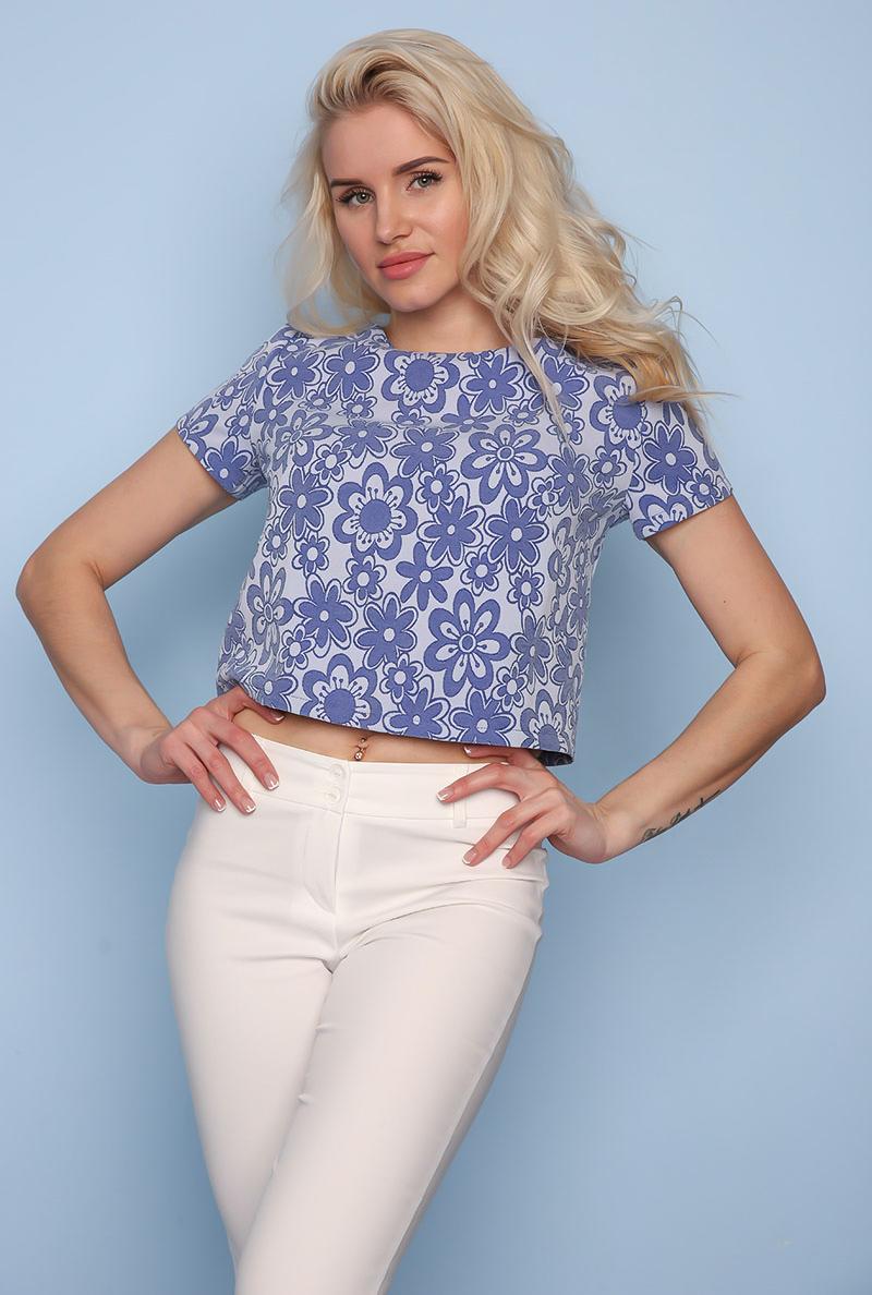 Укороченная Блузка С Доставкой