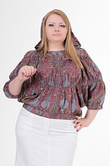 Блузка С Капюшоном