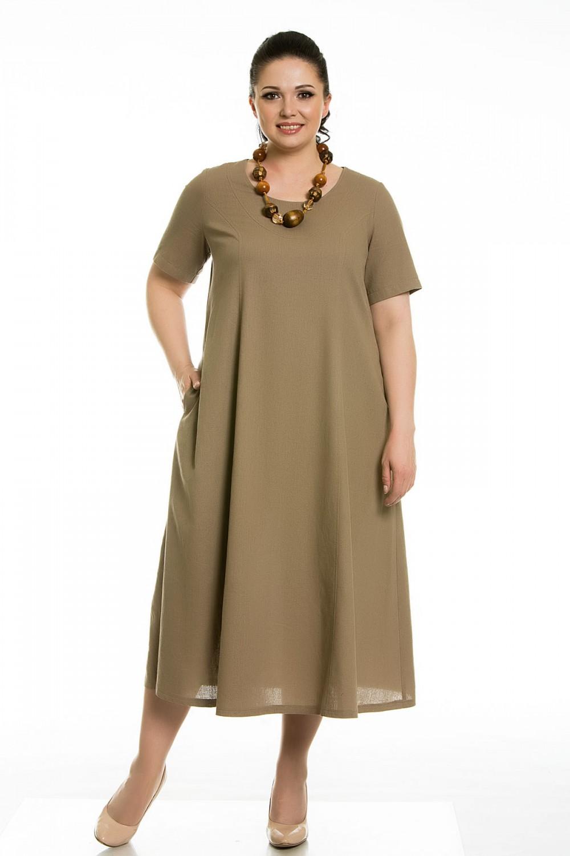 Летние платья из шифона для полных женщин 2017-2018