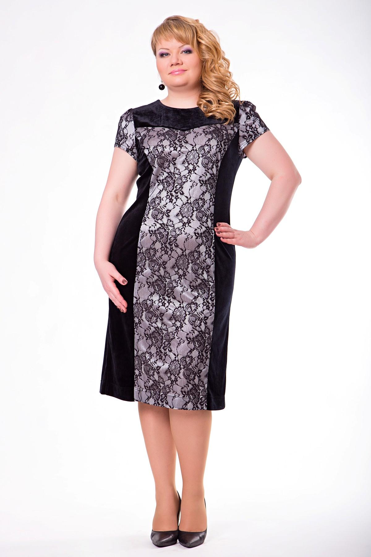 Комбинированные платья