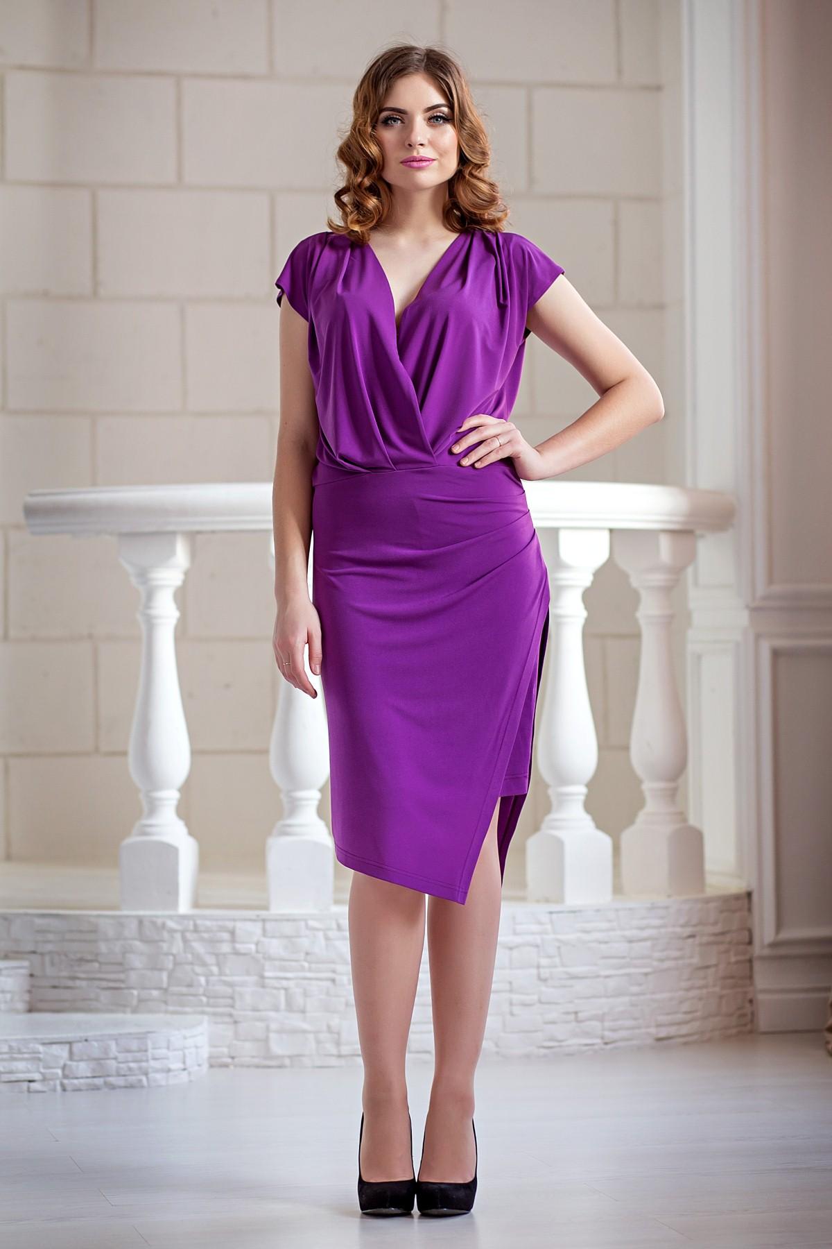 Сиреневое Платье Доставка