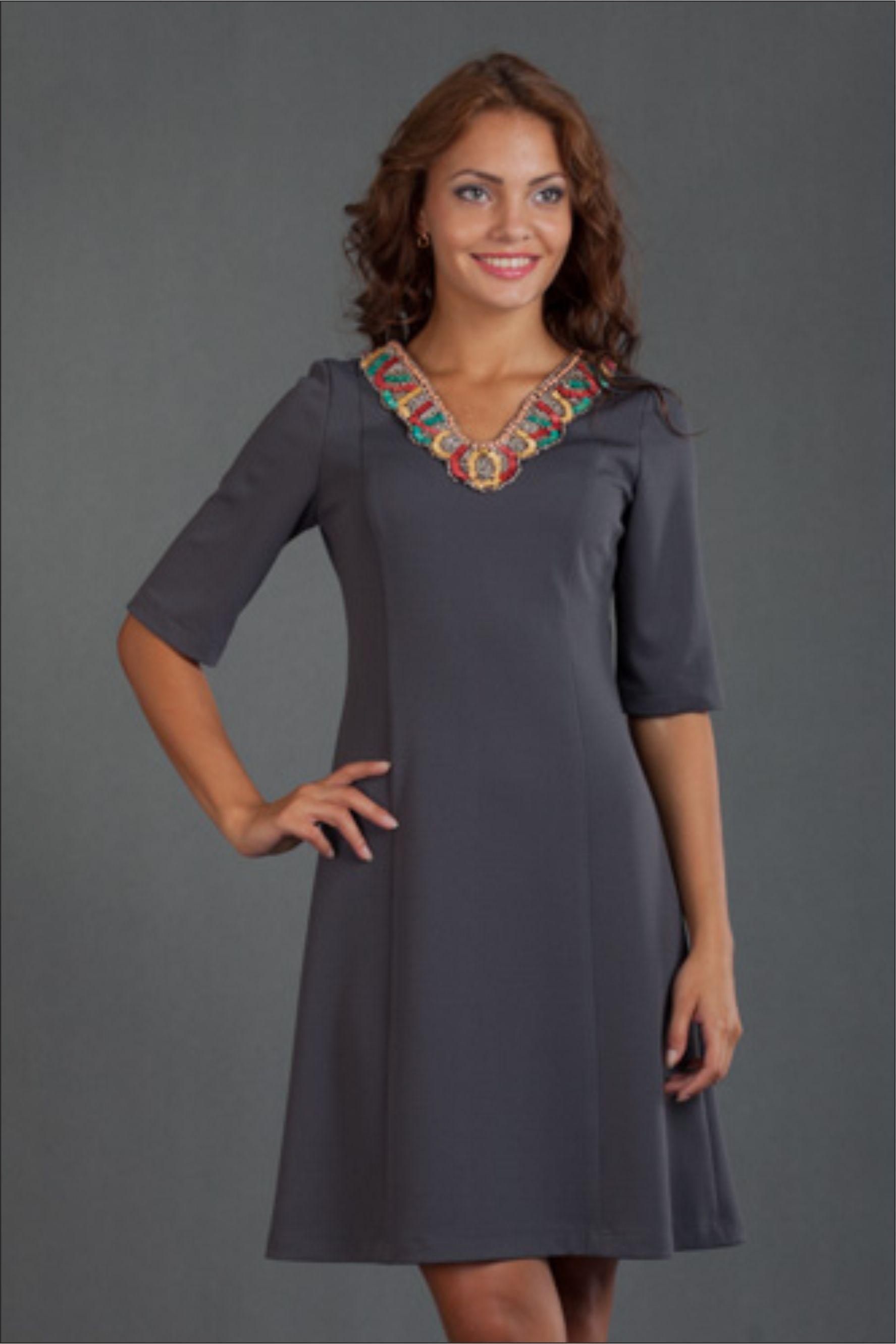 Повседневное платье фасоны