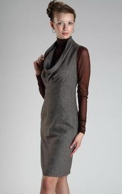 Платья деловые платья сарафан дана